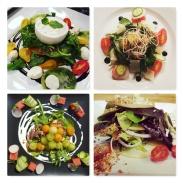 Salad Course Menu Sample Pics