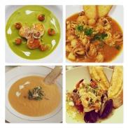 Soup Course Menu Sample Pics